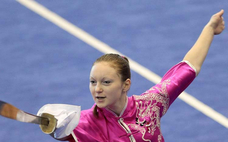 Выступление Терещенко Анны на 3-м Чемпионате мира по ушу среди молодежи