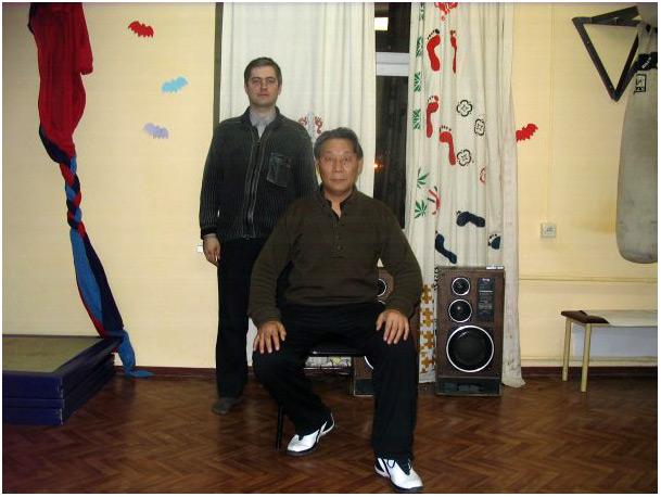 Станислав Березнюк с учеником Ли Цзымина - Ли Гунчэном