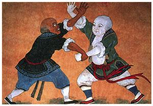 Шуайцзяо - национальная китайская борьба