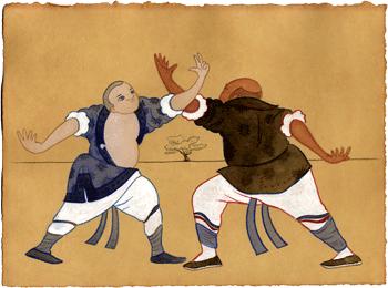 Древнее кулачное искусство - ушу