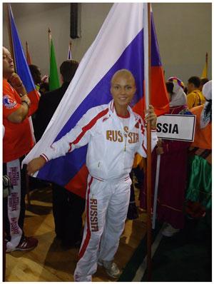 Дарья Тарасова - неоднократная чемпионка мира по ушу