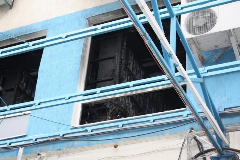 Пожар в ДЦ hosting.ua