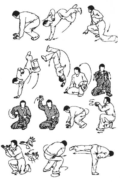 Таолу стиля обезьяны (рисунок 5)