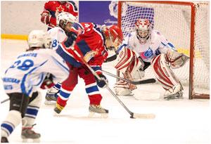 Детский хоккей.