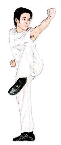 "Минхэ-цюань - ""кулак кричащего журавля"""