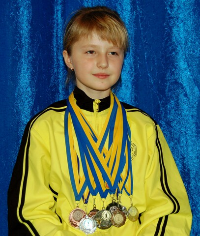 Омарова Ирина - кандидат в мастера спорта Украины по ушу