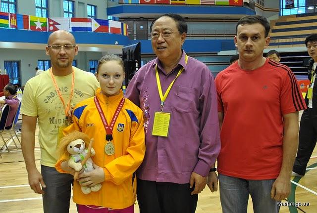 Анна Терещенко на Чемпионате мира по ушу среди молодежи