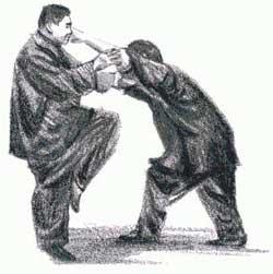 """Особенностью стиля Вин Чунь является упражнение """"липкие руки"""" или """"чи сао"""""""
