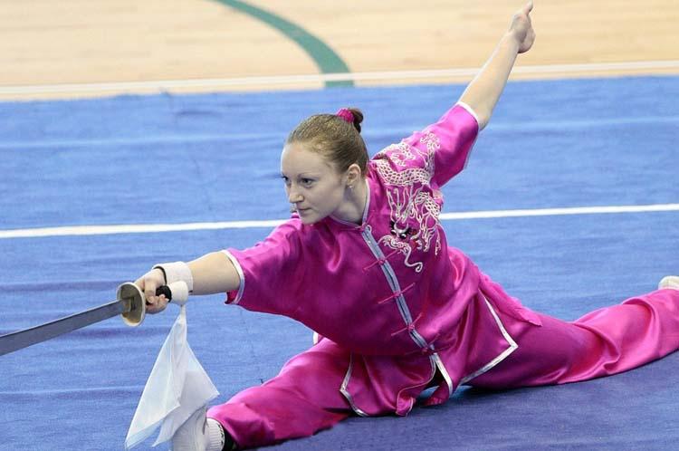 Выступление Терещенко Анны на 3-м Чемпионате мира по ушу среди молодежи в Сингапуре