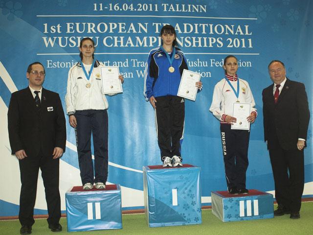 1-й Чемпионат Европы по традиционному ушу