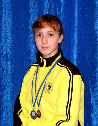Демидова Ольга - кандидат в мастера спорта Украины по ушу
