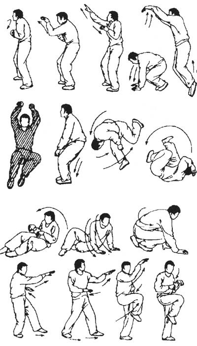 Таолу стиля обезьяны (рисунок 3)