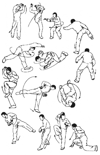 Таолу стиля обезьяны (рисунок 4)