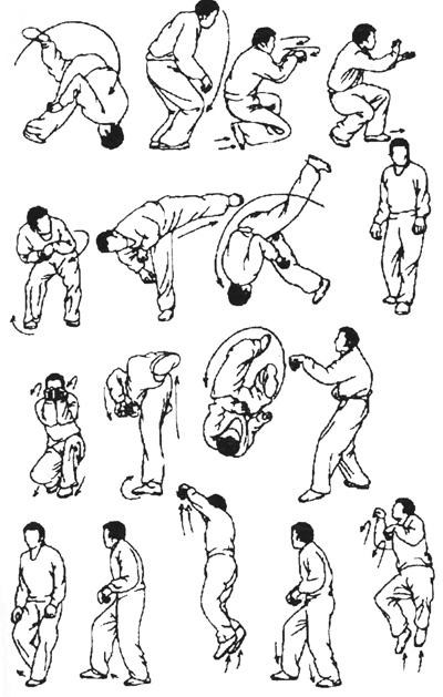 Таолу стиля обезьяны (рисунок 6)