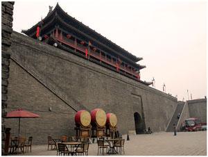 Ворота городской стены в Сиане