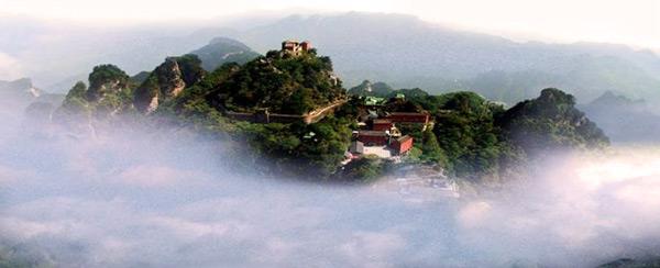 Вид на Уданшань
